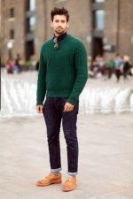 Ботинки с чем носить мужские – с джинсами мужчинам, высокие и зимние, рыжие, синие и желтые