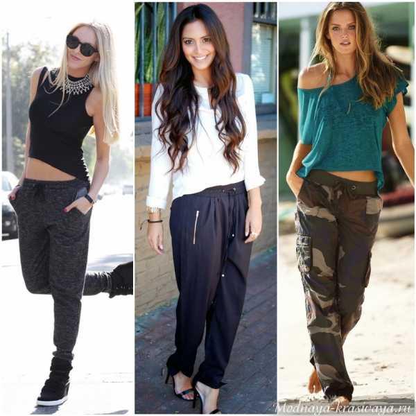 0fd61d531cf Как называются штаны с резинкой внизу женские – Брюки на резинке (59 ...