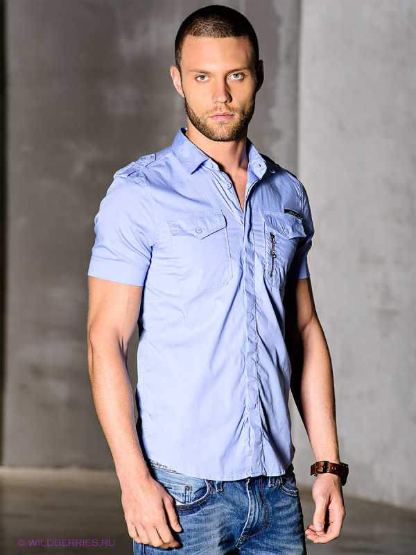 6c7b93c6047 Мужская приталенная рубашка – фото новинка сезона Как сочетать приталенные  рубашки с джинсами