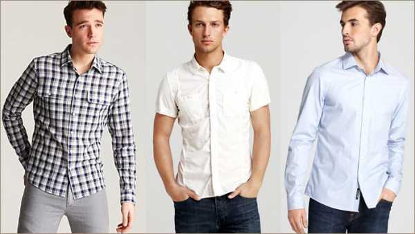 34d2b19bbb5ec32 Мужские спортивные приталенные рубашки изготовлены из более грубого и  прочного материала. К таким относятся: