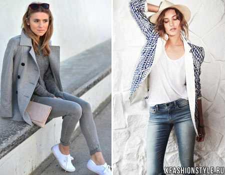 20596e3e922 Кежуальные фото – варианты кэжуала в одежде для женщин до и после 40 ...