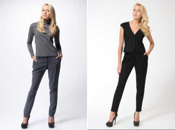 cd69fe9b3a68 Классические брюки зауженные – женские образы, с чем носить, со ...
