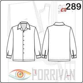 7611e3d28cda67c Крой мужской рубашки – Выкройка мужской рубашки | Готовые выкройки и ...