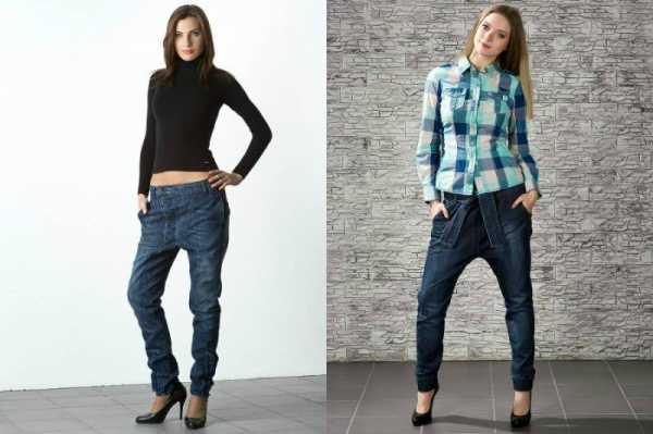 60e4d505 Низкая мешковатая модель визуально укорачивает и расширяет фигуру. Это  особенно заметно, когда надевают джинсы галифе с мотней. Поэтому невысоким  и полным ...
