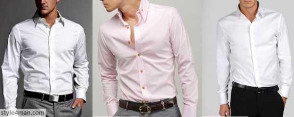de20809cc67 Под деловой костюм одевают классическую мужскую сорочку – это предмет  Вашего базового гардероба. Это сорочка с длинным рукавом