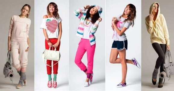 32667794154d Спортивный стиль одежда – спорт шик и другие виды в одежде 2018, чем ...